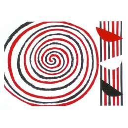 Sir Terry Frost screen print 'Spirals'