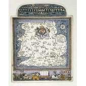 "Graham Clarke handmade etching ""Flower of Cities All"""