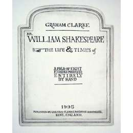 Graham Clarke the Shakespeare set of 8 handmade etchings