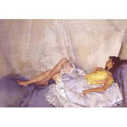 Sir William Russell Flint limited edition 'Cecilia Reclining'
