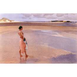 Sir William Russell Flint limited edition print 'Fair Horizon'