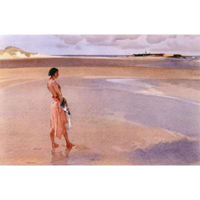 Sir William Russell Flint limited edition print 'Fair Horizon'