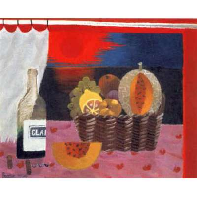 "Mary Fedden RA limited edition print ""Red Sunset (1994)"""