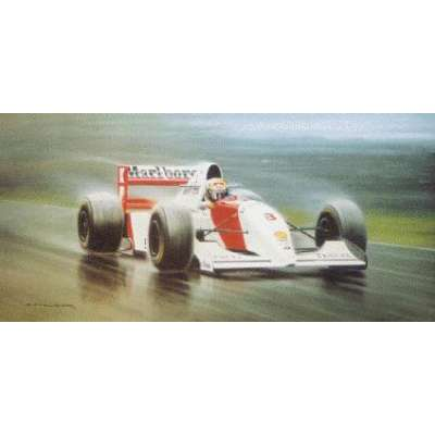 """Gerald Coulson signed limited edition print """"Maestro"""""""