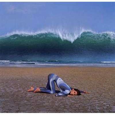 "Storm Thorgerson 20 colour silkscreen ""Wave (Deepest Blue)"""