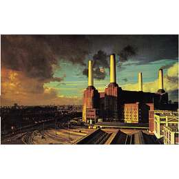 "Storm Thorgerson 19 colour silkscreen ""Animals"""