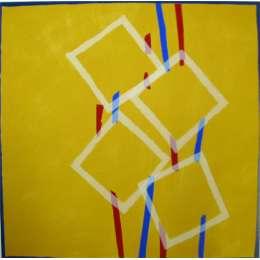 Sandra Blow RA silkscreen 'Four Squares'