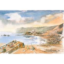 Martin Goode 'Bonne Nuit Bay, Jersey'