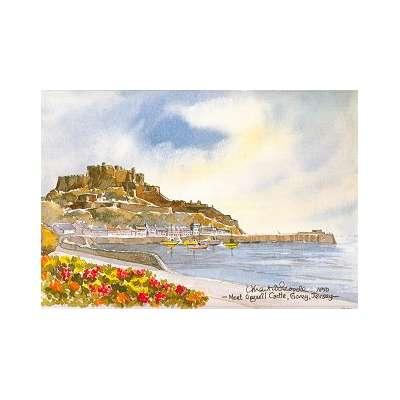 Martin Goode 'Gorey Castle, Jersey'