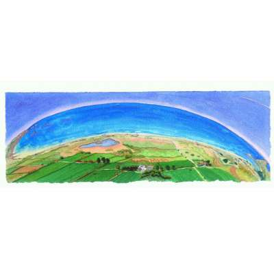 Ian Rolls giclee print 'St Ouen's Bay (Panoramic)'