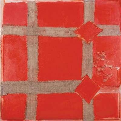 Sandra Blow limited Edition silkscreen print 'Red Melange'