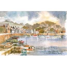 Martin Goode 'St Aubin's Harbour, Jersey'