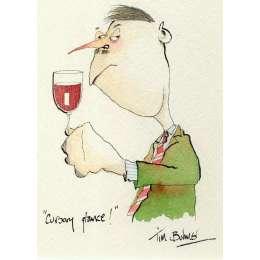Tim Bulmer original watercolour 'Cursory Glance'