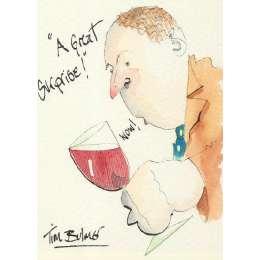 Tim Bulmer original watercolour 'A Great Suprise'