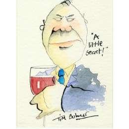 Tim Bulmer original watercolour 'A Little Secret!'