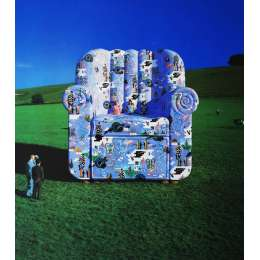 Storm Thorgerson 20 colour silkscreen 'Calendar Chair'