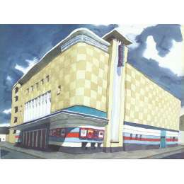 "Ian Rolls giclee print ""Odeon Cinema"""
