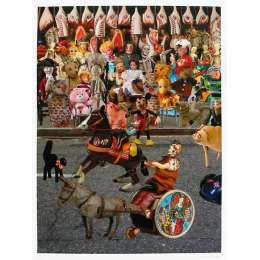 Sir Peter Blake 20 colour screenprint with glazes 'Parade'
