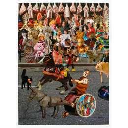Sir Peter Blake 20 colour screenprint with glazes 'Parade'