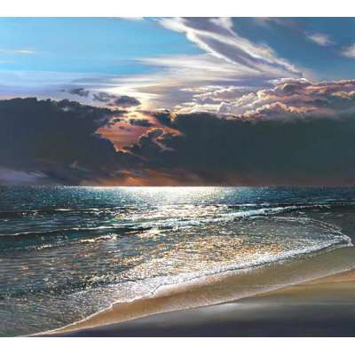 """Ron Bolt """"Caribbean Gold"""" Limited Edition Giclee print"""