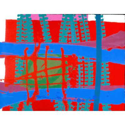Charlotte Cornish screenprint 'Portal II'
