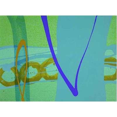 Charlotte Cornish screenprint 'Missing II'