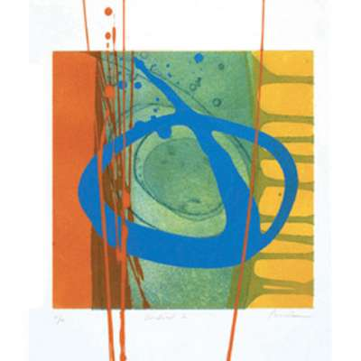 Charlotte Cornish limited edition etching 'Kindred I'