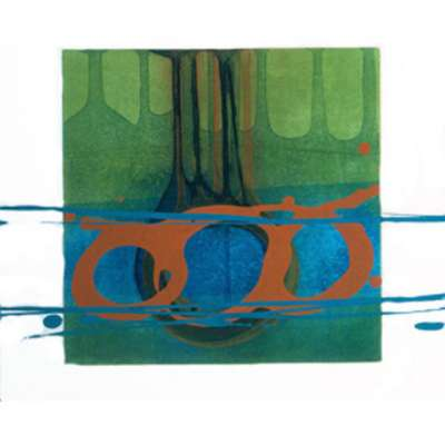 Charlotte Cornish limited edition etching 'Kindred IV'