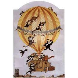 "Linda Jane Smith limited edition print ""Up, Up And Away"""