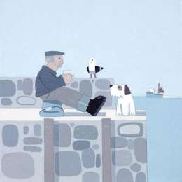 "Sasha Harding limited edition giclee ""Tea Break"""