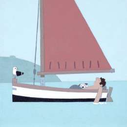 "Sasha Harding limited edition giclee ""Happy Days"""