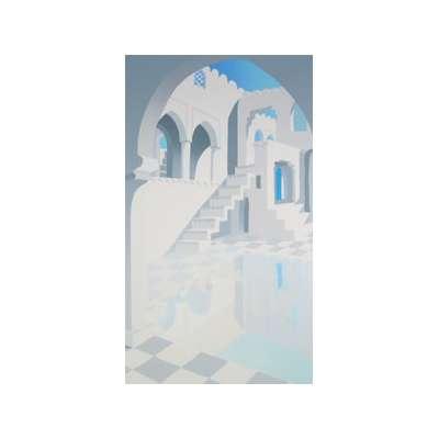 Ricardo Wolfson silkscreen print 'Bundi II'