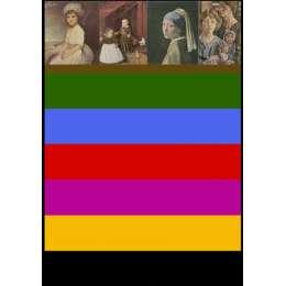 Sir Peter Blake screenprint with glazes 'Fine Art Bits'
