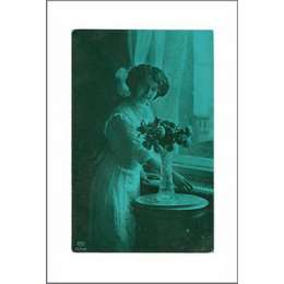 Sir Peter Blake Archival Inkjet 'Victorian Postcard Series 3'
