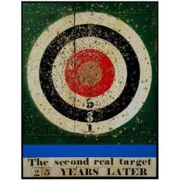 Sir Peter Blake screenprint 'The second Real Target'