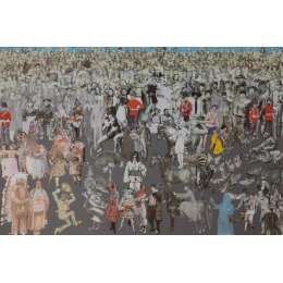 Sir Peter Blake limited edition screenprint 'Another Parade'