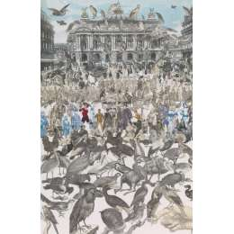 Sir Peter Blake limited edition screenprint 'Birds'