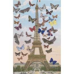 Sir Peter Blake limited edition screenprint 'Eiffel Tower'