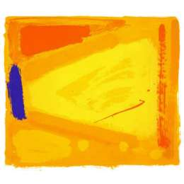 Anthony Frost limited edition screenrpint 'Walking into Yellow'