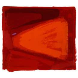 Anthony Frost limited edition screenrpint 'Walking into Red'