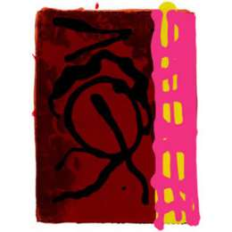 John Hoyland RA limited edition silkscreen 'Story from Nature'